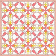 In december I shared my F2F blocks for that month. I spoke about writing some foundation paper piecing patterns in January. This picture above is the Humming pattern, the first of those new pattern…