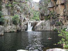 De Hel Groot Winterhoek South Africa, Westerns, Cape, Waterfall, Swimming, River, Outdoor, Mantle, Swim
