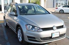 2015 Volkswagen Golf SportWagen TDI S Exterior: Tungsten Silver Metallic (Silver) Interior: Titan Black (Black) Status: In Stock Mileage: 13 Engine: Intercooled Turbo Diesel I-4 2.0 L/120 Transmission: Automatic STK #: G589