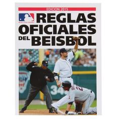 MLB 2015 Official Baseball Rules Book (Spanish Edition) - $8.99