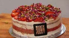 The recipe of the iconic Strawberry Watermelon Cake by Black Star Pastry
