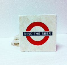 A cool beer coaster set for the Anglophile in your life. $19.95