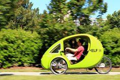 Elf Electric Pedal Car: When 1 Horsepower Is Enough