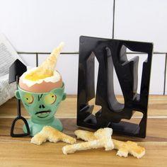 Kit Coquetier Zombie Eggpocalypse : Kas Design, Distributeur de Produits Originaux