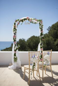 Style your aisle your way on your wedding day with these creative and unique wedding altar ideas. Ibiza Wedding Venues, Destination Wedding, You Mean The World To Me, Wedding Altars, Unique Weddings, Outdoor Weddings, Ceremony Arch, Beautiful Islands, On Your Wedding Day