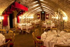 The Undercroft @ Cardiff Castle £900 Venue Hire, Wedding Breakfast Up to 100 People