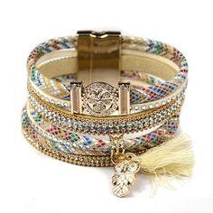 Hipanema Woman Tassels Brazilian Bracelet