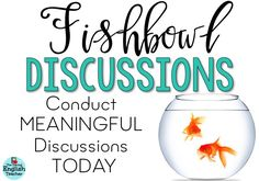 Engage your Students with Fishbowl Discussions   The Daring English Teacher   Bloglovin'