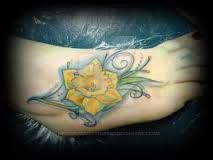 Image result for daffodil tattoos