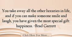 Brad Garrett Quotes About Smile - 62489
