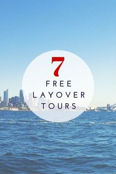 These 7 airports offer free tours for transit passengers.