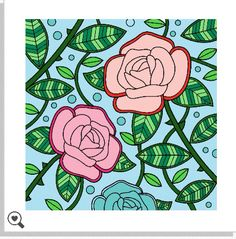 Colorfy roses