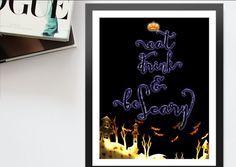 Decorate your #hauntedhouse or #halloween #halloweenparty #decor with this free halloween decor, Link download included, is Free. #walldecor #freebie halloween art quotes