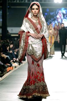"HSY bridal saree. For more,  follow my ""South Asian Faction"" board!"