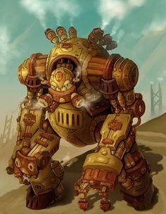 steampunk robots - Google Search