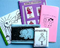 How-to: Zine Making For Kids  By Natalie Z Drieu (from MAKE)