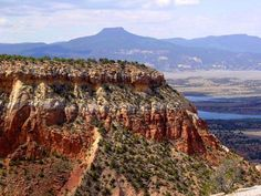 Ghost Ranch with Cerro Pedernal Mountain. http://www.okeeffecountry.com/ghost-ranch.html