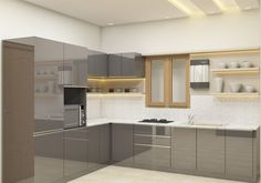 L - Shaped Kitchen with Laminate Finish Shop for L shaped kitchen designs in India from Scale Inch. EMI available on products.Shop for L shaped kitchen designs in India from Scale Inch. EMI available on products. L Shaped Kitchen Interior, L Shaped Kitchen Cabinets, L Shaped Kitchen Designs, Latest Kitchen Designs, Kitchen Cupboard Designs, Kitchen Room Design, Modern Kitchen Cabinets, Modern Kitchen Design, Kitchen Layout