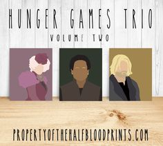 HUNGER GAMES Minimalist Trio: Volume 2