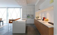 Image result for kitchen sink facing a wall