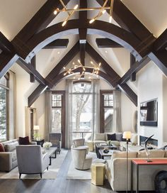 This Aspen Ski Chalet Went From Boring to Alpine Chic - Curbed Ski