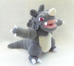 Pokédex # 112 Rhydon #pokemon #amigurumi