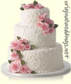 wedding cake picture: wedding cake picture #awesomeweddings