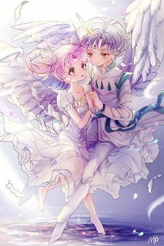 A Pleasant Surprise - Heavenly_Pearl - Sailor Moon Sailor Moons, Sailor Moon Manga, Sailor Moon Crystal, Cristal Sailor Moon, Arte Sailor Moon, Sailor Moon Fan Art, Disney Marvel, Manga Comics, Chibiusa And Helios