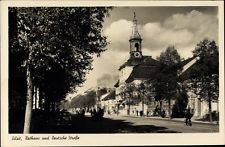 Ak Tilsit Sowetsk Kaliningrad Ostpreußen, Rathaus und Deutsche... - 1388936