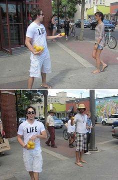 """""""When life gives you lemons, make lemonade.""""  #quote"""