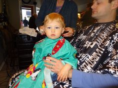 One Flew Over the Playpen's blog post about her son's first haircut. Honestly, I laughed out loud and couldn't stop - the old lady and the perm... painful! And funny. Painfully funny. Also, cute.