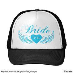 Angelic Bride To Be Trucker Hat