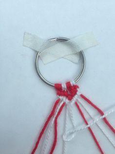 SYDÄN YSTÄVÄNAUHA – LISÄRIPANKKI Handicraft, Macrame, Diy And Crafts, Valentines Day, Personalized Items, Knitting, Handmade, Jewelry, Needlepoint