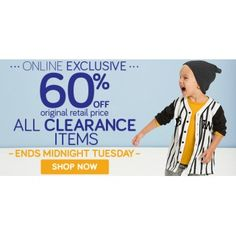 60% OFF on All Clearance Items @ Pumpkin Patch - Ends Tuesday - Bargain Bro