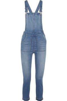 Madewell - Stretch-denim Overalls - Blue