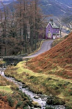 Cumbria. I'm pretty sure this is Buttermere.....and I think that I once stayed in this house in the 1970's