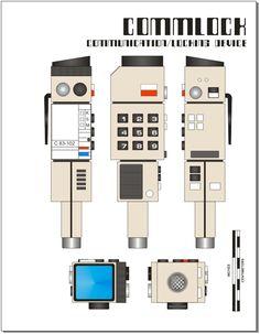 Space 1999 Commlock. #space1999 #eagletransporter