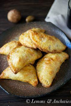 Chicken & Mushroom Empanadas {Baked} | Lemons & Anchovies Blog