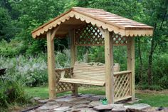 Garden Arbor Plans | Treasures from a Shoebox: He's Been At It Again...