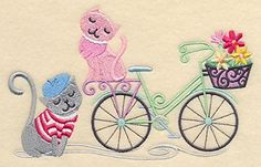 Embroidered Kitchen Towel Paris Kitty Cats Bicycle Design ** You can find out more details at the link of the image. Note:It is Affiliate Link to Amazon.