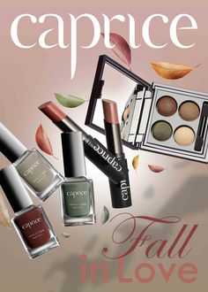 Fall in Love Caprice Cosmetics collection,to be closer to the nature, natural colors , to be in love , to be beautiful and to be yourself .#nailpolish #caferoyal #marriage #fidel #bakedeyeshadow #jeudecouleur #rougefudel #mattelipstick #forestcoltos #nautralcolors #makeupoftheday
