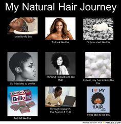 #naturalhairjourney meme. Very funny!  http://www.bestnaturalhairvideos.com