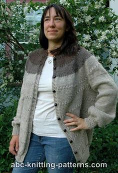 This stunning knit cardigan features no seams. Can you believe it?
