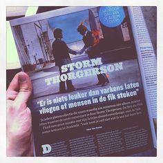 P-Magazine - July 2012 - Storm Thorgerson