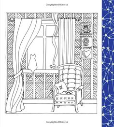 March the National Sleep Foundation celebrates Sleep Awareness… House Colouring Pages, Cute Coloring Pages, Adult Coloring Pages, Coloring Sheets, Coloring Books, Stencil Patterns, Quilt Patterns, Zen Colors, Colour Architecture