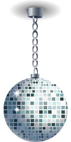 Discokugle, Spejl Kugle, Glitter Kugle, Sfære, Runde