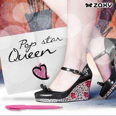 2ea14a46bf A Zaxy Popstar Queen é tão famosa e querida entre as  zaxymaníacas que já  está até distribuindo autógrafos.    Não é um arraso!