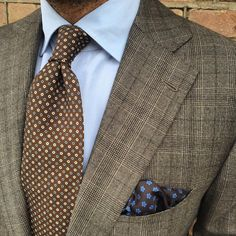 danielmeul:   #ootd #prince of Wales check suit in... - Treviorum