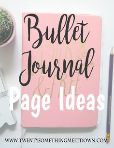 50 Bullet Journal Spread Ideas. Yes I know, another bullet journal page ideas post - haven't we seen enough? In my opinion no. I always pin people's bujo posts and I always have a look at their page ideas because I get SO much inspo for my own notebook! Check out HannahEmilyLane and Pa