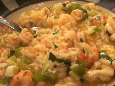 "cajun food This is a great recipe based on one from Emeril Lagasse's book, Louisiana Real & Rustic. He says, ""Believe it or not, this now-familiar crawfish dish was not known beyond Louisia Crawfish Etoufee Recipe, Crawfish Recipes, Crawfish Etouffee, Cajun Recipes, Seafood Recipes, Soup Recipes, Great Recipes, Cooking Recipes, Haitian Recipes"